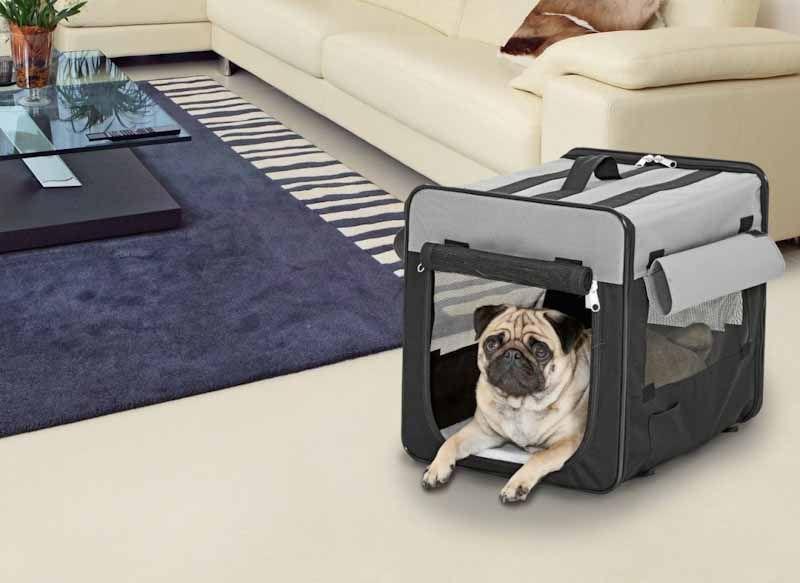 Hundebur i Stof - Smart Top Plus