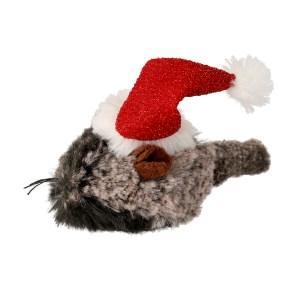 Julemus med nissehue