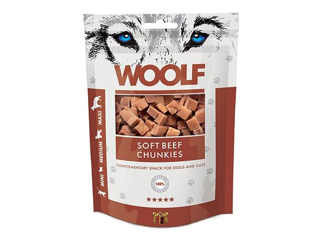 Woolf Soft Beef Chunkies